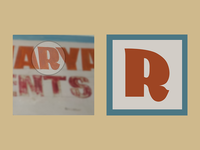 Vectorizing hand painted type