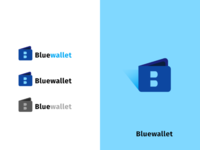 Identity /logo design for bluewallet