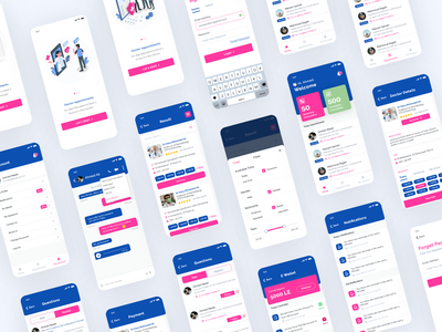 DocEgy Doctor Appointment App android app android book appointment appointment booking doctor appointment doctors mobile app ios web design design ux ui