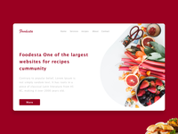 Recipes Landing Page