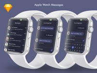 Messages Apple watch