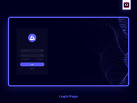 Login Page for web