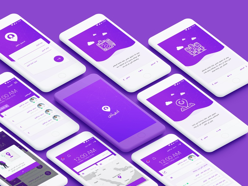 Employee Tracking android android app mobile app ios website web design design ux ui