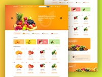 Fruits In Website Home Page