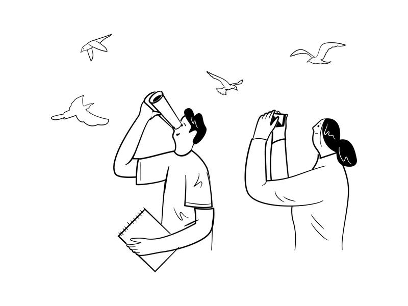 Inspiration black and white illustration design process inspiration