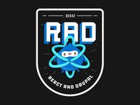 """""""RAD"""" sticker"""
