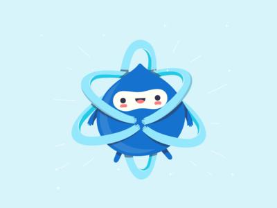 Drupal + React drupal design illustration