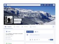 Facebook 2019 redesign idea
