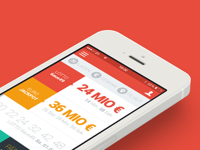 Lottery App for Android and iOS