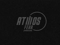 Atmosfear logo black and white