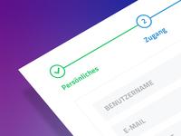 Registration Process / Progress