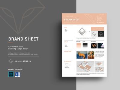 Brand Sheet