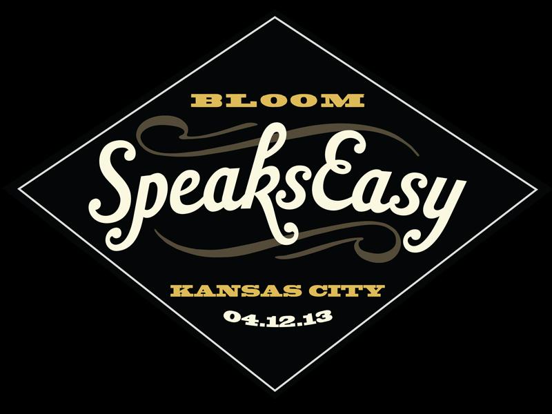 Speakeasy Event Branding benefit speakeasy logo design event