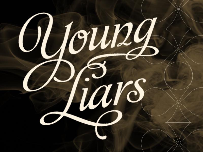 Young Liars Club creative direction branding bar restaurant logo