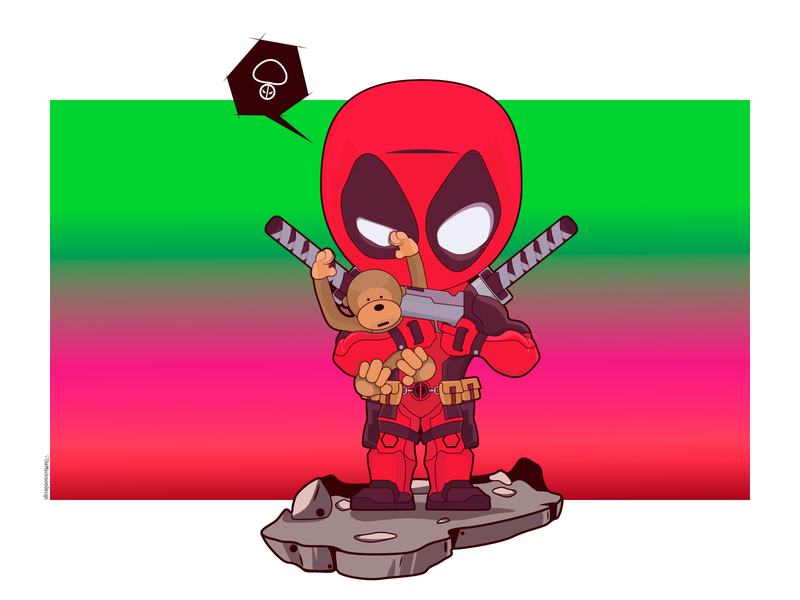 DeadPool - TheMushroomDesign