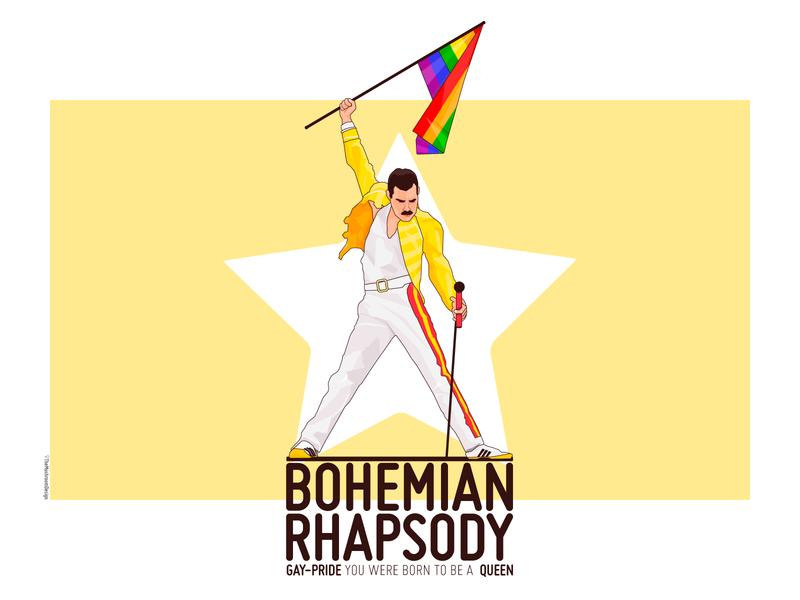 Freddie Mercury - TheMushroomDesign
