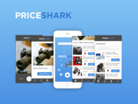 Priceshark App Screens