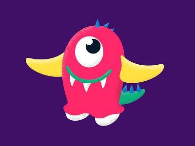 Little Monster monster illustrator adobe illustration vector