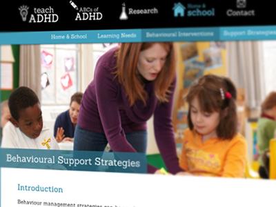 Teach ADHD UI Design