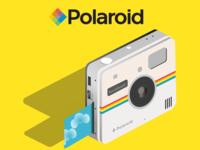Polaroid Socialmatic Isometric Design