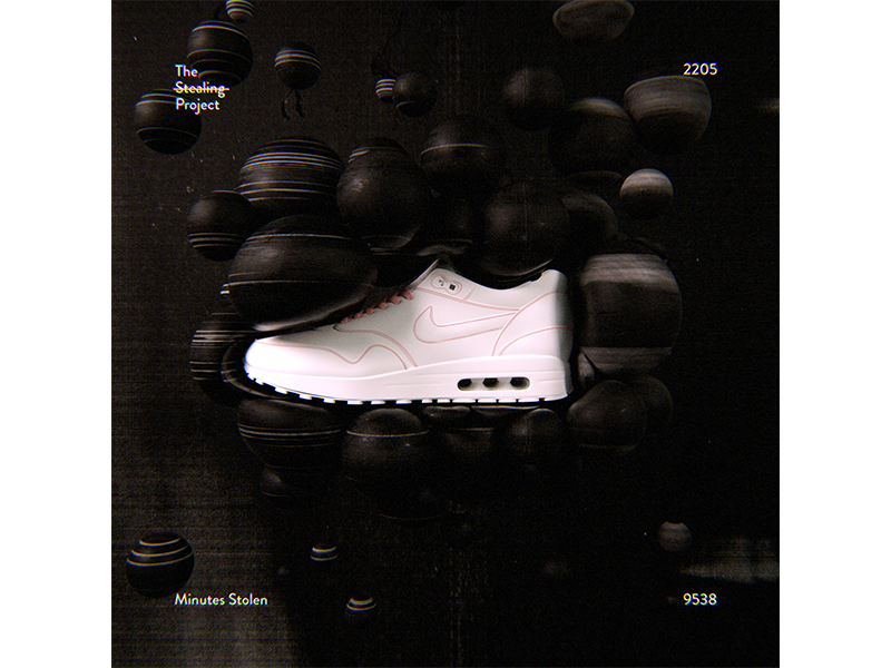 2205 poster everyday design stilllife experimental graphic design the stealing project illustration cinema4d print airmax nike
