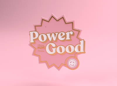 Power for Good / Pin