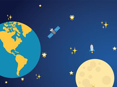 Emoji Space emoji design graphic design cute adobe illustrator 2d illustration