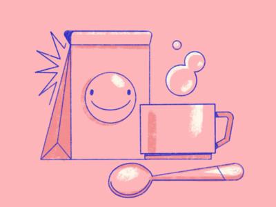 Good morning! design ipadpro textures procreate brush texture character illustrator illustration