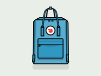 Day 8: Kånken Fjallraven backpack