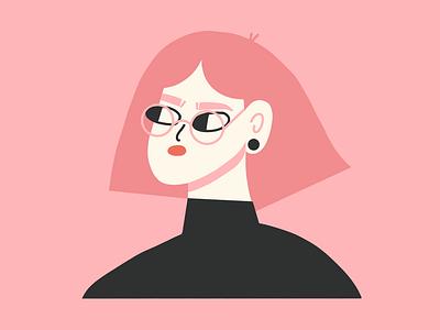 warm up girl textures ipadpro procreate brush female scene character texture illustrator illustration