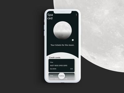 Spaced App interface flow spacedchallenge ui ux petty dann