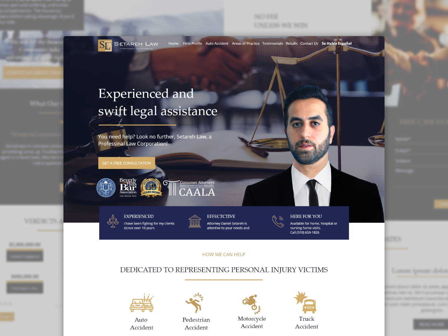 ATTORNEY WEBSITE attorney lawyer branding website ui ux typography type logo flat web lading new web design inspiration design