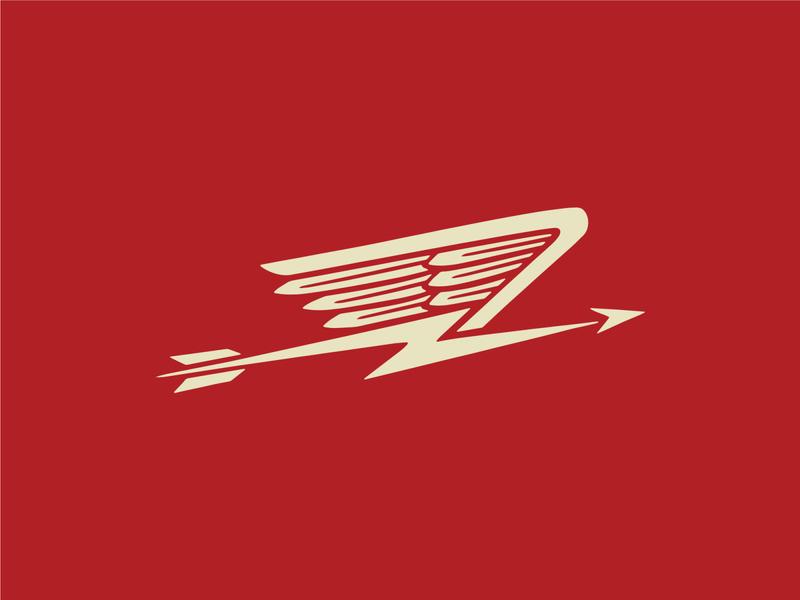 Winged Arrow Icon