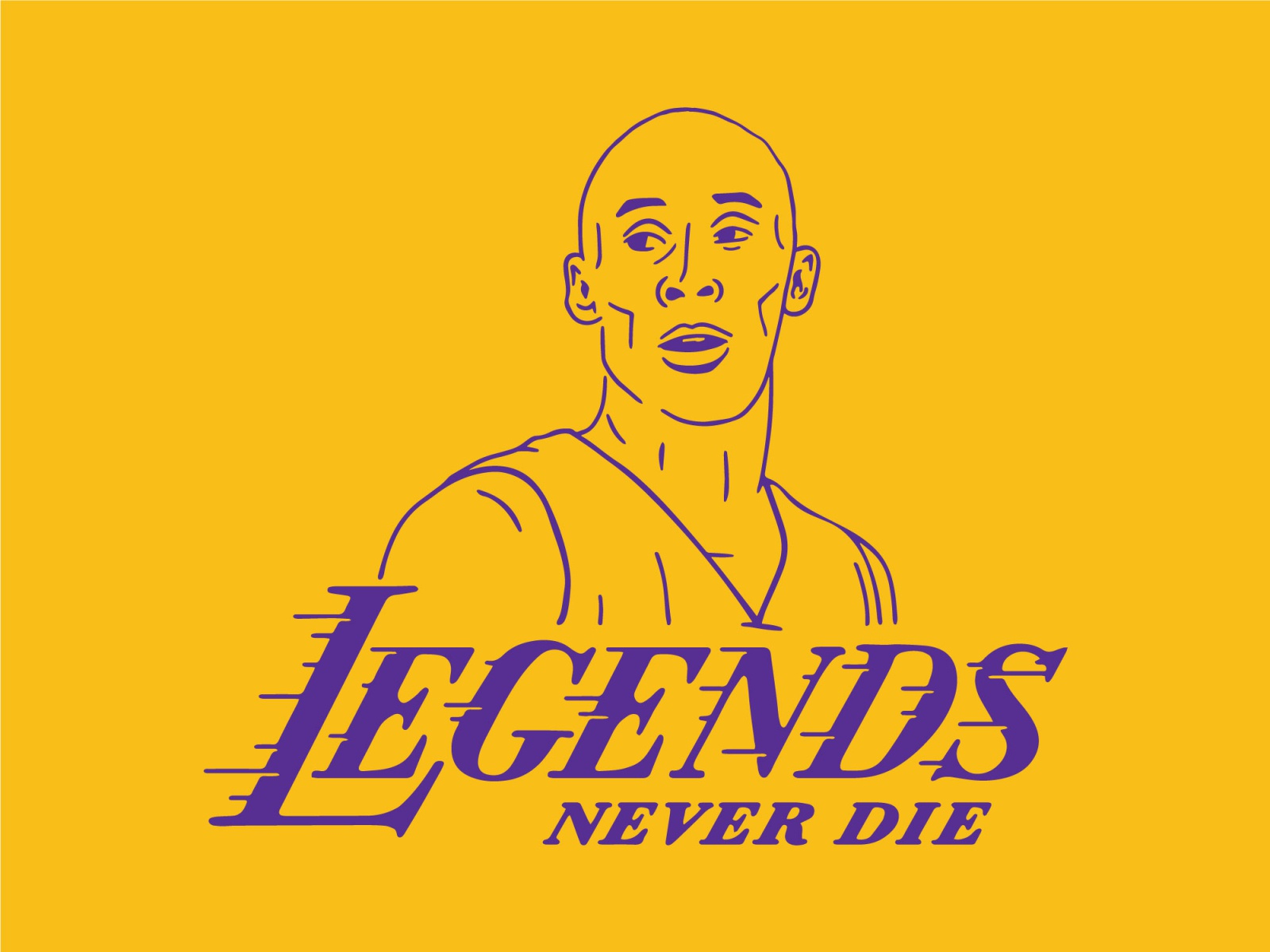 Legends Never Die By Wildwood Design Co On Dribbble