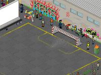 Pixel Art Stadium (detail)