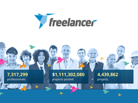 Freelancer - Homepage Redesign - Contest Entry