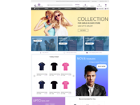 E Commerce Homepage