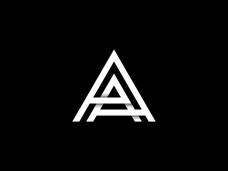 AA Logo brandmark lettermark monogram logo logo