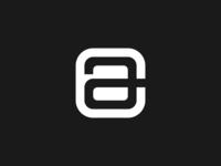 ca negative space logo