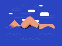Big Buds Swimming