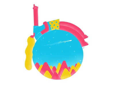 Stargazer art sketch drawing stars summer character design design character illustration