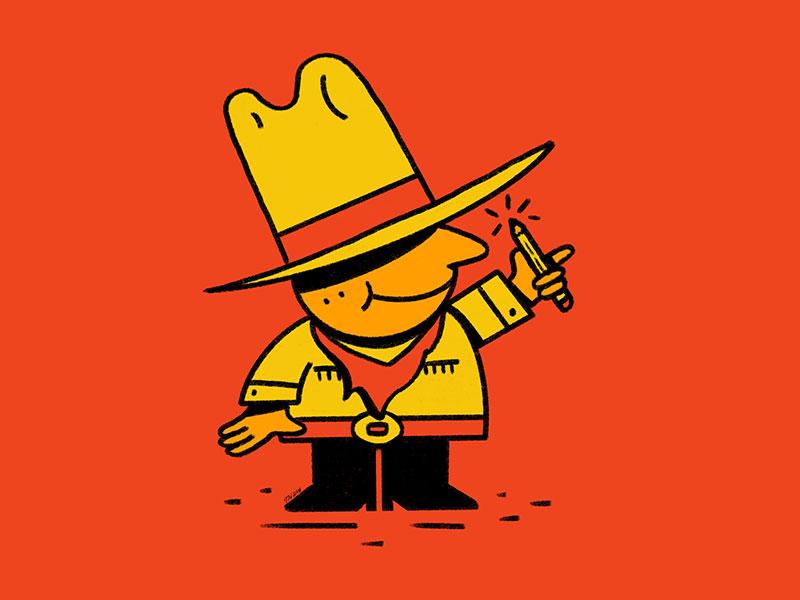 Drawcowboy