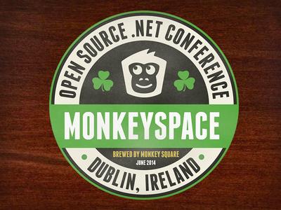 Monkeyspace Conference t-shirt ireland