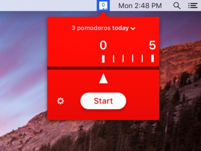 Pomodoro menubar app menubar pomodoro