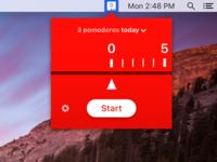Pomodoro menubar app