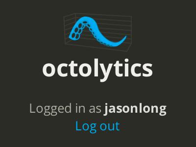Octolytics logo analytics github tentacles