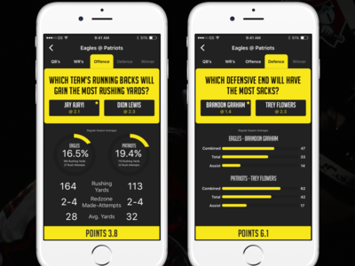 Head To Head Game mobile sportsbook graphs