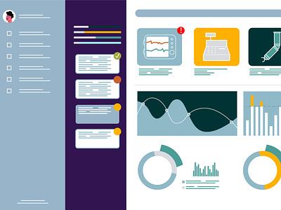 Concept design for a new video explainervideo illustraion illustration design animation vector
