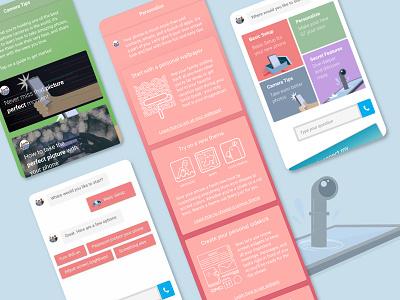 Post onboarding ideas for support app animation illustraion app app design design vector