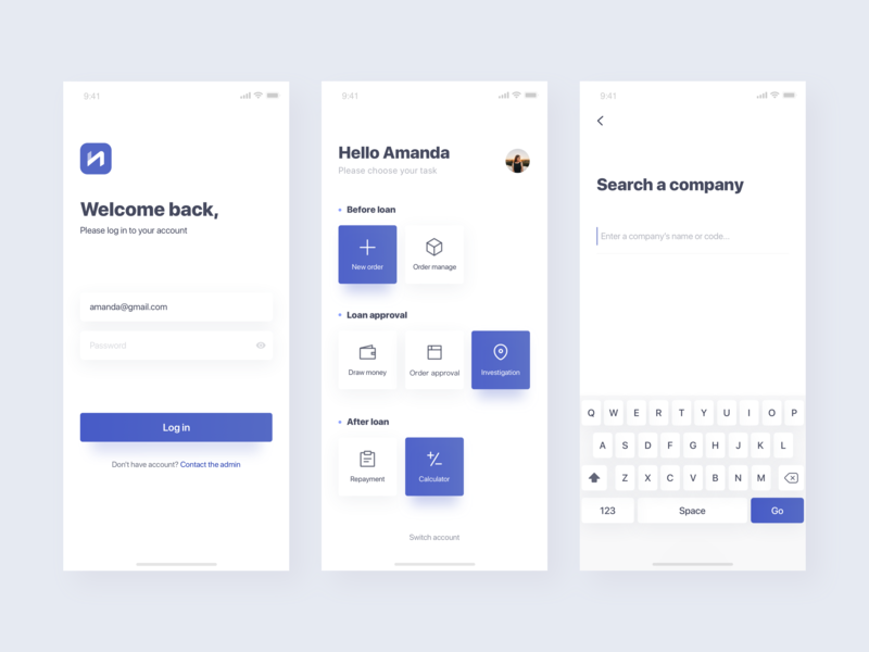 Dashboard APP dashboard user interface app ui
